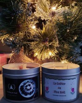 Offre Duo de Bougies Parfumées Artisanales de Noël
