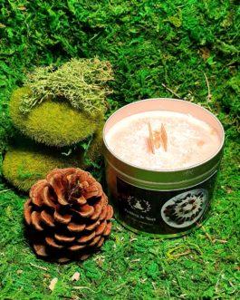 Bougie Parfumée Artisanale Pudding de Noël