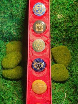Kit pierres des 7 chakras