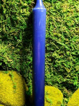Bougie bleue – Teintée dans la masse