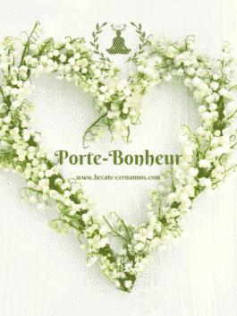 "Bougie Artisanale Naturelle ""Porte-Bonheur"""