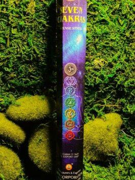 Encens bâtonnets 7 chakras