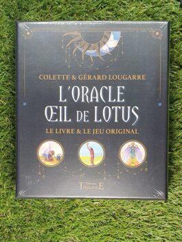 L'Oracle Œil de Lotus – Coffret – Le livre et le jeu original